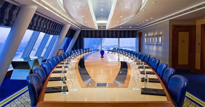 Burj Al Arab Dubai 7 Star Hotel - Meetings