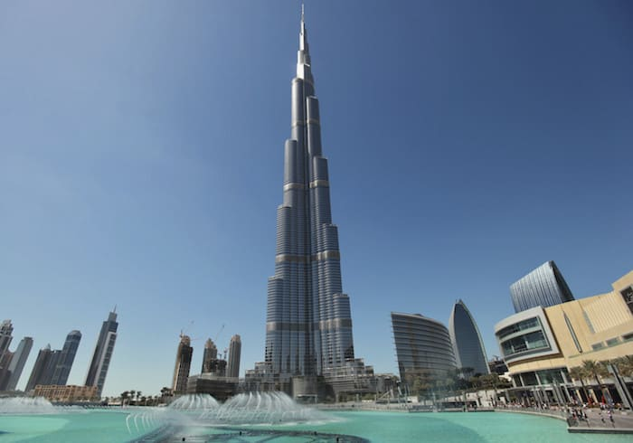 The Burj Khalifa hotel