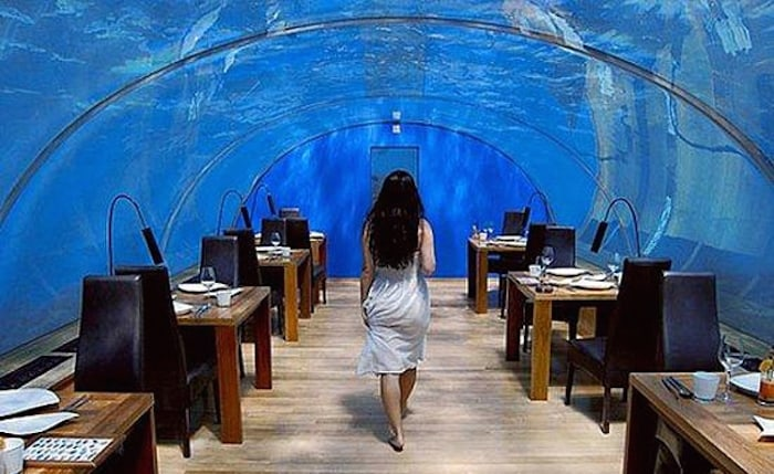 The Dubai Underwater Hotel - Restaurant