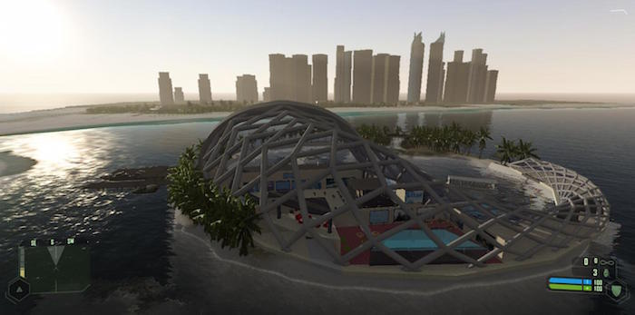 The Dubai Underwater Hotel - View