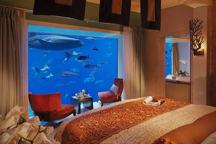 Dubai Hotel Underwater Room Prices