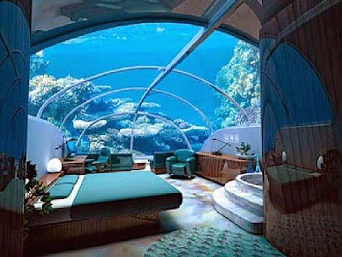 The Dubai Underwater Hotel - Rooms