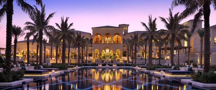 The Palm Island Dubai One and Only Hotel