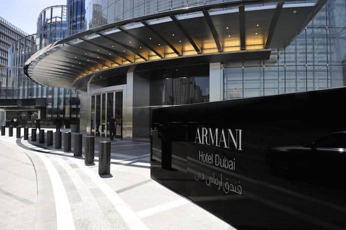 Downtown Duai Hotels - Armani
