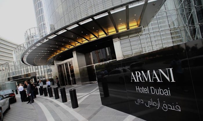 Best Romantic Hotel near Dubai Mall - Armani Hotel