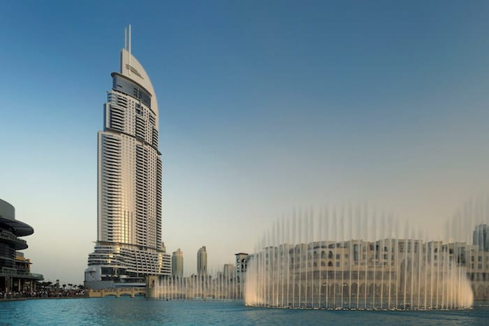 Best Luxury Hotel near Dubai Mall - The Address Dubai Mall