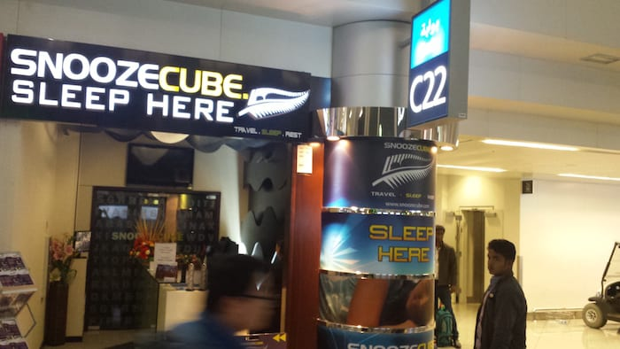 Dubai Airport Hotels Snooze Cube