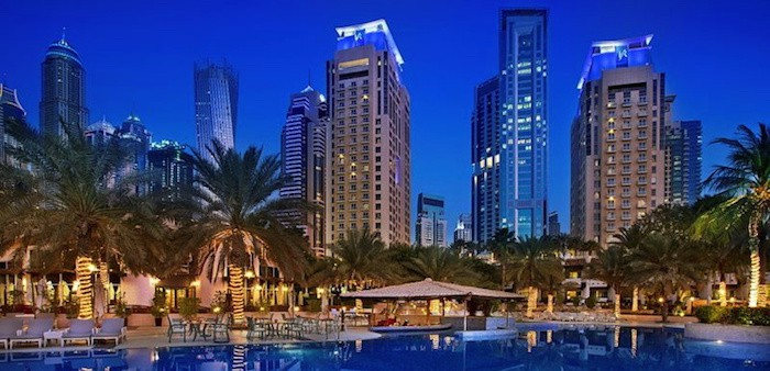 Best Singles Hotel in Dubai Marina: Habtoor Grand Beach Resort & Spa