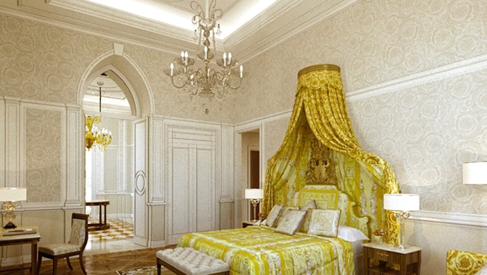 Duai most expensive hotels - Palazzo Versace