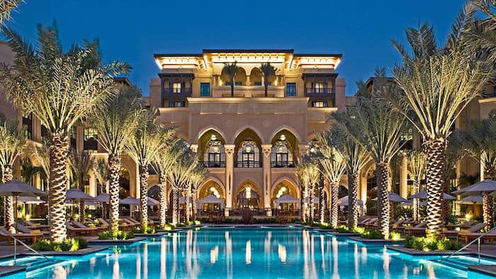 Dubai most expensive hotels Park Hyatt Dubai The Palace Downtown