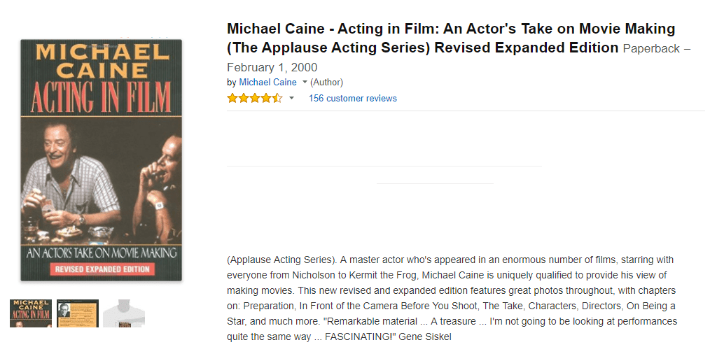 World's top 10 online acting courses - Michael Caine
